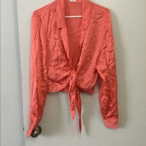 New tie wilfred blouse